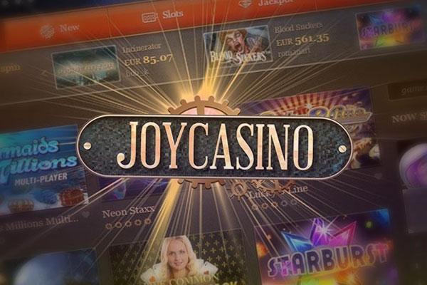 Онлайн казино Джойказино